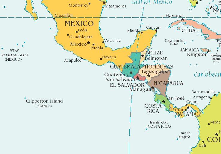 Central America | Trans American Railroad Company